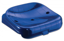 S07690 Fireproof colored polypropylene seat