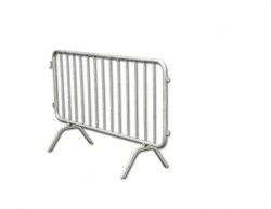 S07700 Tubular galvanized steel barrier