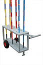 S02372 Galvanized steel trolley