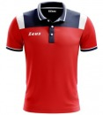 Polo Vesuvio red blue