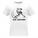 Ice hockey player white