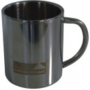 High Peak Double Walled Stainless Steel Mug nerūsējošā tērauda krūze (41473)