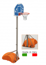 S04008 recreational basket and mini-basket unit