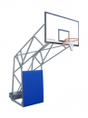 S04024 olympic and monotubular basketball backstop