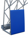 S04028 olympic and monotubular basketball backstop