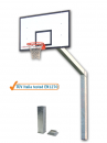 S04030 olympic and monotubular basketball backstop