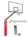 S04032 olympic and monotubular basketball backstop