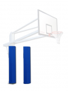 S04037 olympic and monotubular basketball backstop