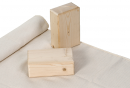 S01428 wooden yoga block