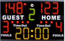 S05300 Tabletop portable electronic multisport scoreboard PS-M