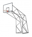 S04020 olympic and monotubular basketball backstop